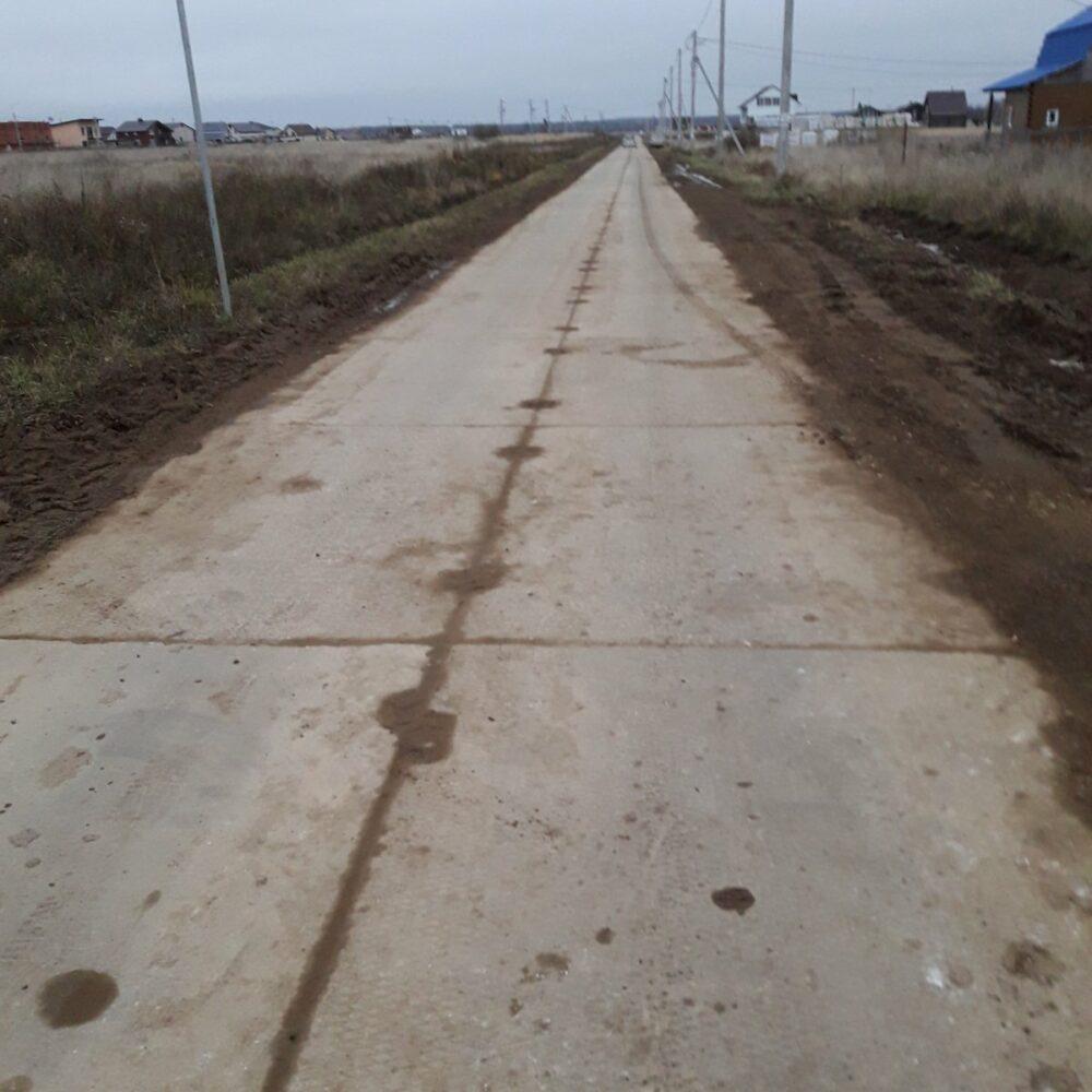 Строительство временной дороги по ул. Героев 4 этап