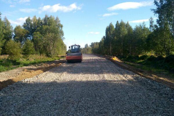 Подъезд к ферме в д. Леонтьево